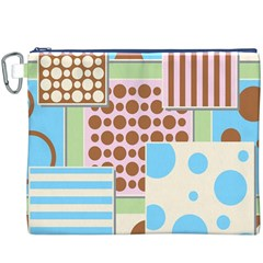 Part Background Image Canvas Cosmetic Bag (xxxl)