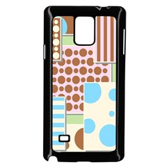 Part Background Image Samsung Galaxy Note 4 Case (black)