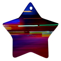 Abstract Background Pictures Ornament (star)