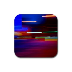 Abstract Background Pictures Rubber Square Coaster (4 Pack)