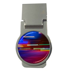 Abstract Background Pictures Money Clips (Round)