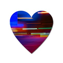 Abstract Background Pictures Heart Magnet