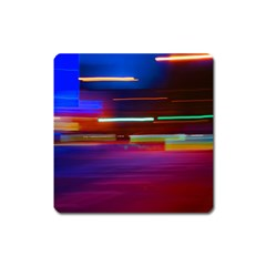 Abstract Background Pictures Square Magnet