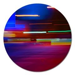 Abstract Background Pictures Magnet 5  (Round)