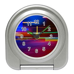 Abstract Background Pictures Travel Alarm Clocks