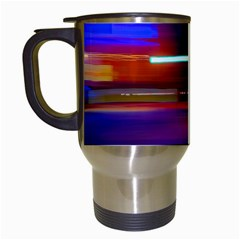 Abstract Background Pictures Travel Mugs (white)