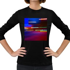 Abstract Background Pictures Women s Long Sleeve Dark T-Shirts