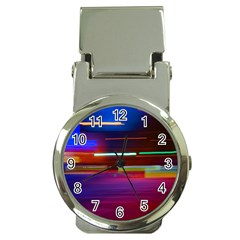 Abstract Background Pictures Money Clip Watches
