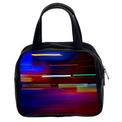 Abstract Background Pictures Classic Handbags (2 Sides)