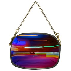 Abstract Background Pictures Chain Purses (One Side)