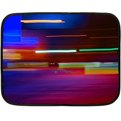 Abstract Background Pictures Double Sided Fleece Blanket (mini)