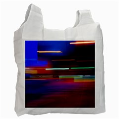Abstract Background Pictures Recycle Bag (one Side)