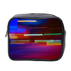 Abstract Background Pictures Mini Toiletries Bag 2 Side