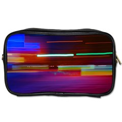 Abstract Background Pictures Toiletries Bags 2 Side