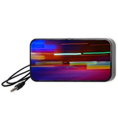 Abstract Background Pictures Portable Speaker (Black)
