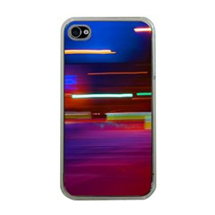 Abstract Background Pictures Apple iPhone 4 Case (Clear)