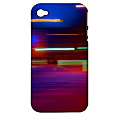 Abstract Background Pictures Apple iPhone 4/4S Hardshell Case (PC+Silicone)