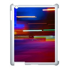 Abstract Background Pictures Apple iPad 3/4 Case (White)