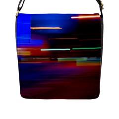Abstract Background Pictures Flap Messenger Bag (l)