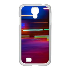 Abstract Background Pictures Samsung GALAXY S4 I9500/ I9505 Case (White)