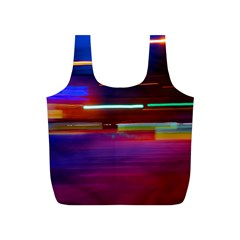 Abstract Background Pictures Full Print Recycle Bags (S)