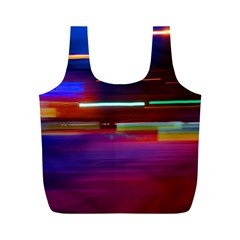 Abstract Background Pictures Full Print Recycle Bags (M)
