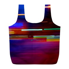 Abstract Background Pictures Full Print Recycle Bags (L)