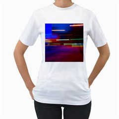 Abstract Background Pictures Women s T-Shirt (White)