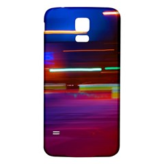 Abstract Background Pictures Samsung Galaxy S5 Back Case (White)