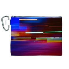 Abstract Background Pictures Canvas Cosmetic Bag (XL)
