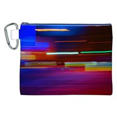 Abstract Background Pictures Canvas Cosmetic Bag (XXL)