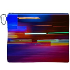 Abstract Background Pictures Canvas Cosmetic Bag (XXXL)