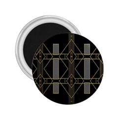 Simple Art Deco Style Art Pattern 2 25  Magnets