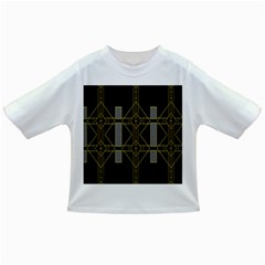 Simple Art Deco Style Art Pattern Infant/toddler T Shirts