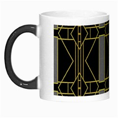 Simple Art Deco Style Art Pattern Morph Mugs