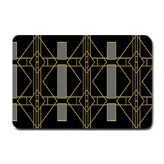 Simple Art Deco Style Art Pattern Small Doormat