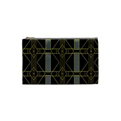 Simple Art Deco Style Art Pattern Cosmetic Bag (small)