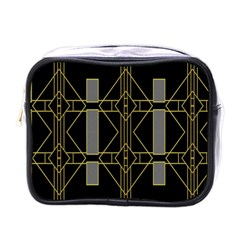 Simple Art Deco Style Art Pattern Mini Toiletries Bags