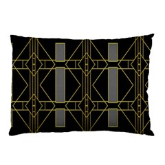 Simple Art Deco Style Art Pattern Pillow Case (Two Sides)