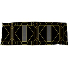 Simple Art Deco Style Art Pattern Body Pillow Case Dakimakura (two Sides)