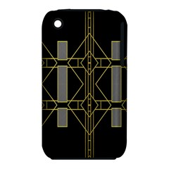 Simple Art Deco Style Art Pattern Iphone 3s/3gs
