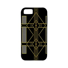 Simple Art Deco Style Art Pattern Apple Iphone 5 Classic Hardshell Case (pc+silicone)