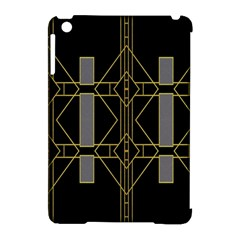 Simple Art Deco Style Art Pattern Apple iPad Mini Hardshell Case (Compatible with Smart Cover)