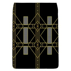 Simple Art Deco Style Art Pattern Flap Covers (l)