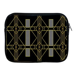 Simple Art Deco Style Art Pattern Apple Ipad 2/3/4 Zipper Cases