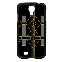 Simple Art Deco Style Art Pattern Samsung Galaxy S4 I9500/ I9505 Case (black)