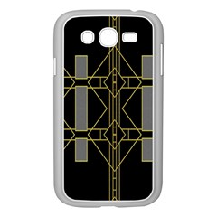Simple Art Deco Style Art Pattern Samsung Galaxy Grand Duos I9082 Case (white)