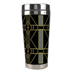Simple Art Deco Style Art Pattern Stainless Steel Travel Tumblers