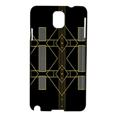 Simple Art Deco Style Art Pattern Samsung Galaxy Note 3 N9005 Hardshell Case