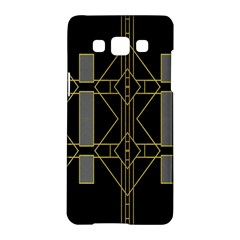 Simple Art Deco Style Art Pattern Samsung Galaxy A5 Hardshell Case